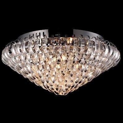 Plafon Cristal Redondo K9 Transparente L2001-9L - Chandelie