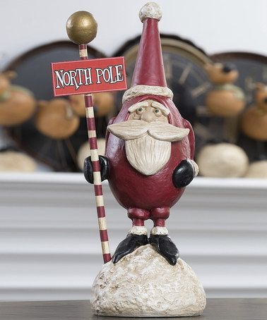 Take a look at this North Pole Santa Figurine by ESC and Company, Inc. on #zulily today!