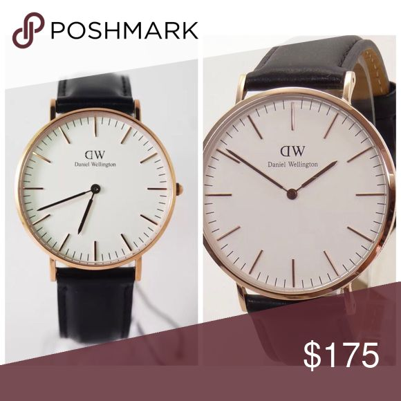‼️ SALE‼️2 DANIEL WELLINGTON WATCHES 36mm-40mm Both Brand New FOR BLACK FRIDAY ONLY TILL FRIDAY NIGHT 36mm-Black and Rosegold 40mm-Black and Rosegold Daniel Wellington Accessories Watches