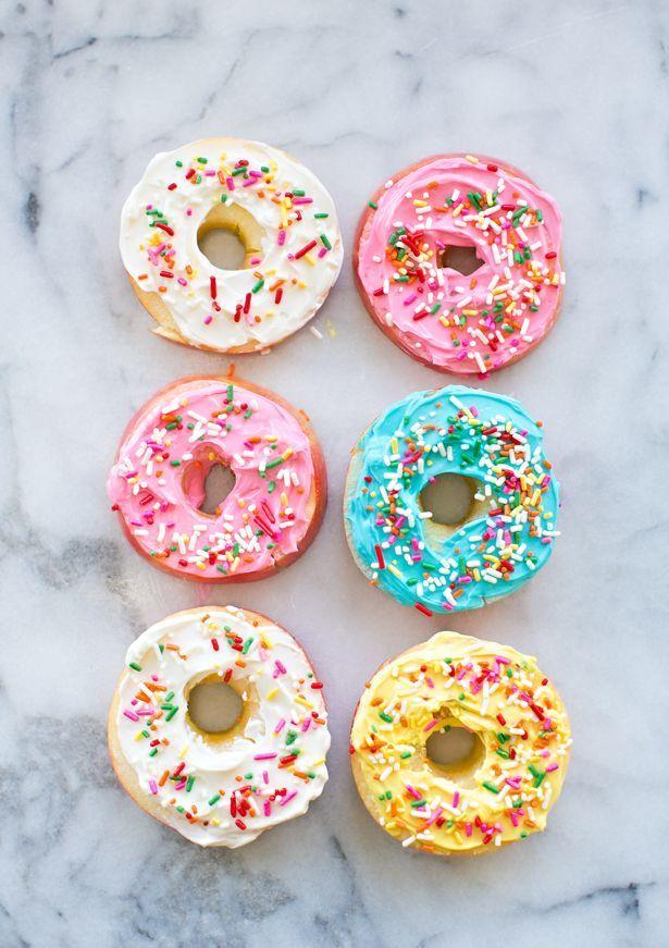 hello, Wonderful - EASY APPLE FRUIT DONUTS: HEALTHY KID SNACK