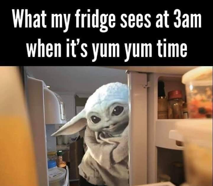 Pin By Melanie Johns On Baby Yoda Yoda Funny Clean Funny Memes Yoda Meme