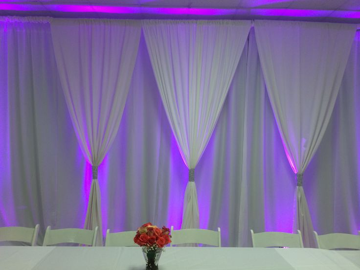 drapery for any event can transform a room