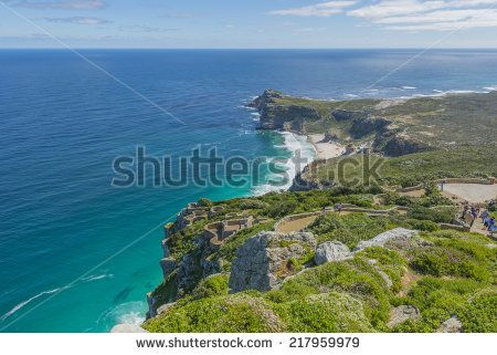http://www.shutterstock.com/pic-217959979/stock-photo-cape-point-is-located-near-the-city-of-cape-town-south-africa-the-peninsula-has-towering-rock.html?src=l2UmwzKl67EMHu1DgRoo8g-1-28 Cape Point Is Located Near The City Of Cape Town, South Africa. The Peninsula Has Towering Rock Cliffs And Lighthouse That Overlook The Beautiful Ocean View. A Tourism And Travel Hot Spot. Stock Photo 217959979 : Shutterstock