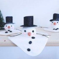 Make a Melting Snowman | Den Kreativa Sky on willowday