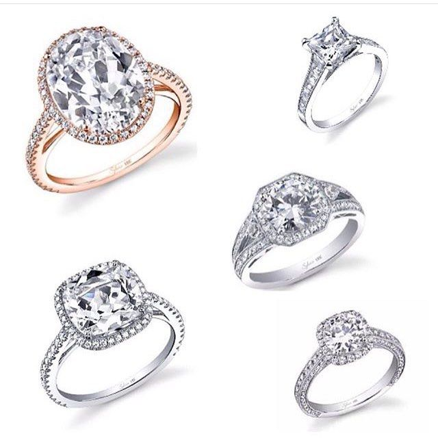 Great Brides aren ut the same and your ring shouldn ut be either Customize with all of Sylvie us engagement rings metal setting or cut