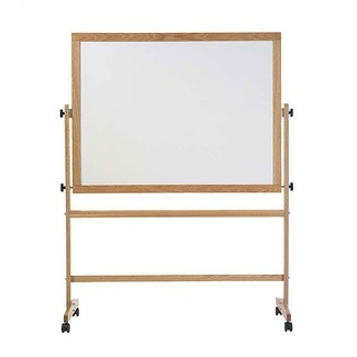 I want a rolling whiteboard/divider! It could hide the laundry area when not in use!