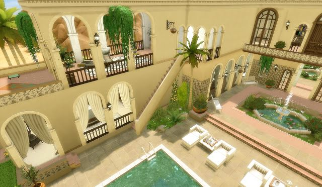 House 47 Oasis Springs The Sims 4 Sims 4 Sims House