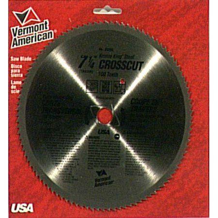 Vermont American 25290 Krome King Crosscut Circular Saw Blades, Multicolor