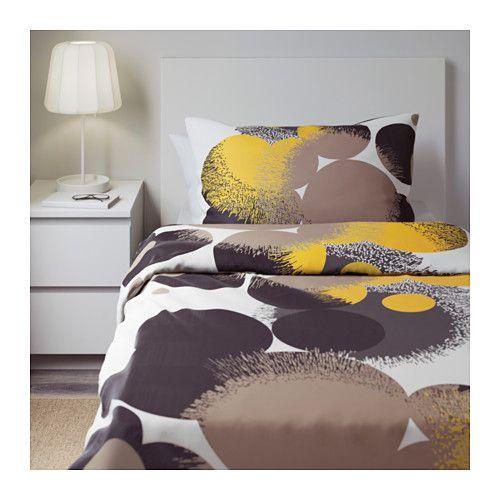 BOLLTISTEL Påslakan 1 örngott - 150x200/50x60 cm - IKEA