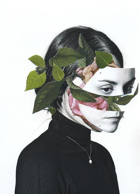 Rocio Montoya | Autorretrato / Handmade collage