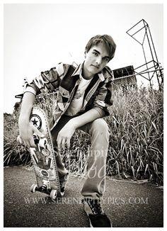 skateboard senior picture - Google Search