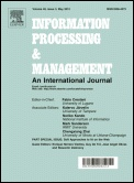 Information Processing & Management is devoted to refereed reporting of:    1. Basic and applied research in information science, computer science, cognitive science and related areas.  2. Experimental and advanced processes related to: information retrieval (IR); digital libraries; knowledge organization and distribution; digitized contents - text, image, sound and multimedia processing; etc.    3. Management of information resources, services, systems and networks, and digital libraries.