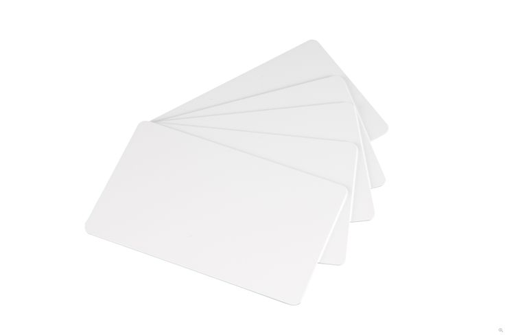 PVC Cards 30 mill (500/pack) @Spec Systems - Ideal support for outstanding #printouts. #Evolis