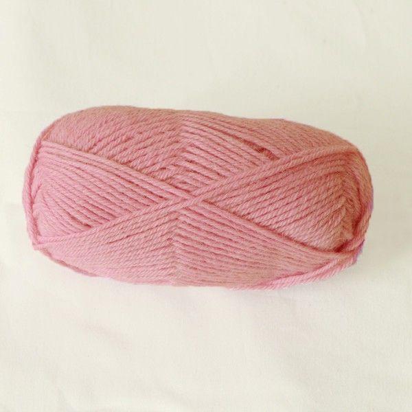Strickwolle, rosa, aus 100% Alpaka