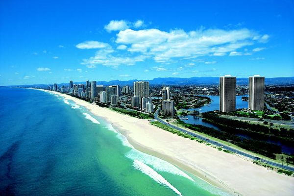 Gold Coast of Australia. Love to go there someday
