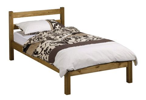 The Namsos is a basic but very strong wooden bed, it features a classic styled headboard with a low foot end. Reinforcement Features: Constructed from the Strongest Scandinavian Solid Pine, Chunky Heavy Duty Solid Pine Side Rails, Reinforcement Centre Bar with Support Legs, Heavy Duty Fixings, Extra Thick and Wide Solid Slats.