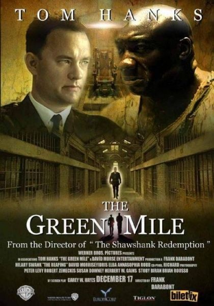 Kitaptan Uyarlama: Yeşil Yol – The Green Mile (1999)  Director: Frank Darabont