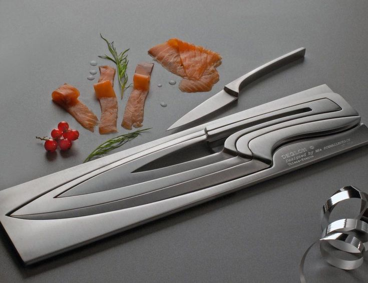 World of Accessories  Meeting by Déglon, the knife set  Déglon Meeting Knife Set by Déglon is a real space-saver (there's no need for a knife block), pleasing to the eye and fit for a real chef. This puzzle knife set is such a brilliant idea.     - See more at: https://goo.gl/6LMrxc