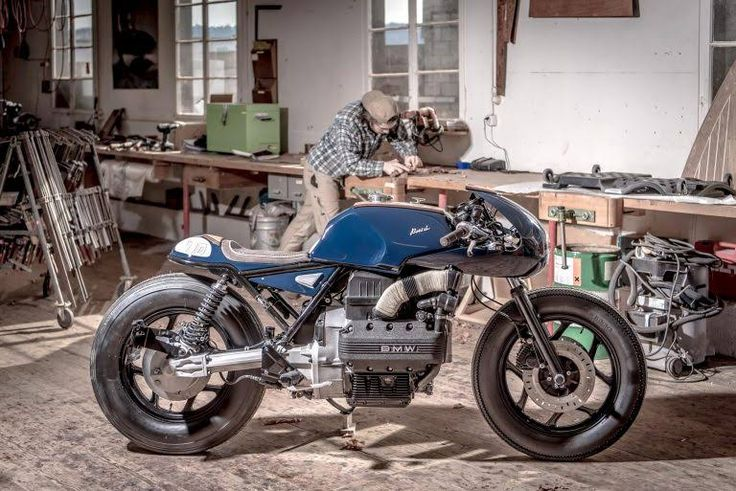 "La BMW K100 ""Boesch 100"" de VTR Customs 