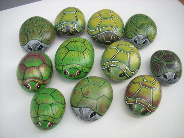 tortues turtles des animaux dans le jardin pinterest tortue verte peindre et bricolage. Black Bedroom Furniture Sets. Home Design Ideas