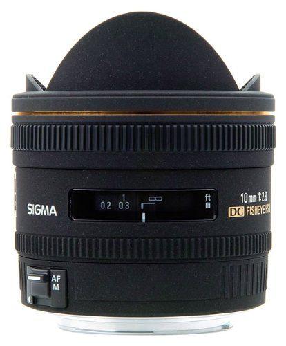 Sigma 10mm f/2.8 EX DC HSM Fisheye Lens for Sigma Digital SL $649