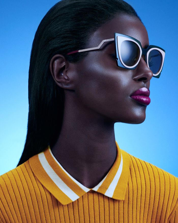 EDITORIAL: Canadian fashion model Senait Gidey stunned in this colorful editorial series by photographer Sebastian Mader - AFROPUNK