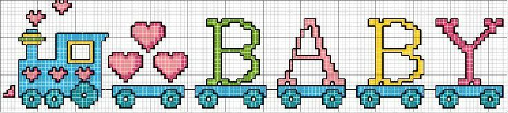 Molde-de-tren-para-baby-shower-en-punto-de-cruz.jpg (927×207)