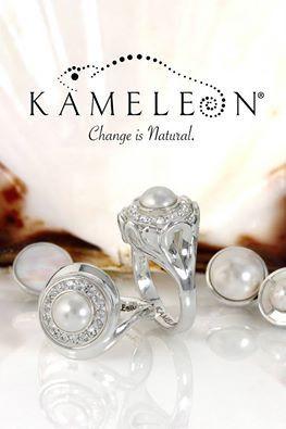 Kameleon Jewelry Jewel Pop KJP500 Snow Queen + Top Selling Rings KR11 & KR36