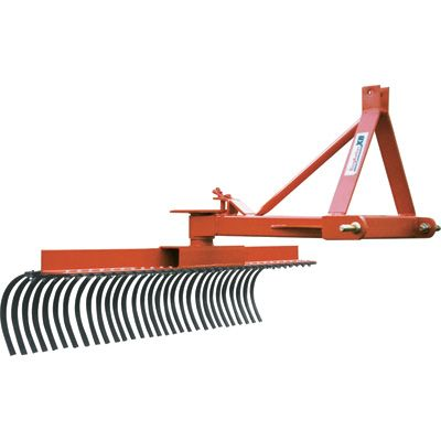 King Kutter XB Landscape Rake 5ft., Model# TYR-60-XB ...