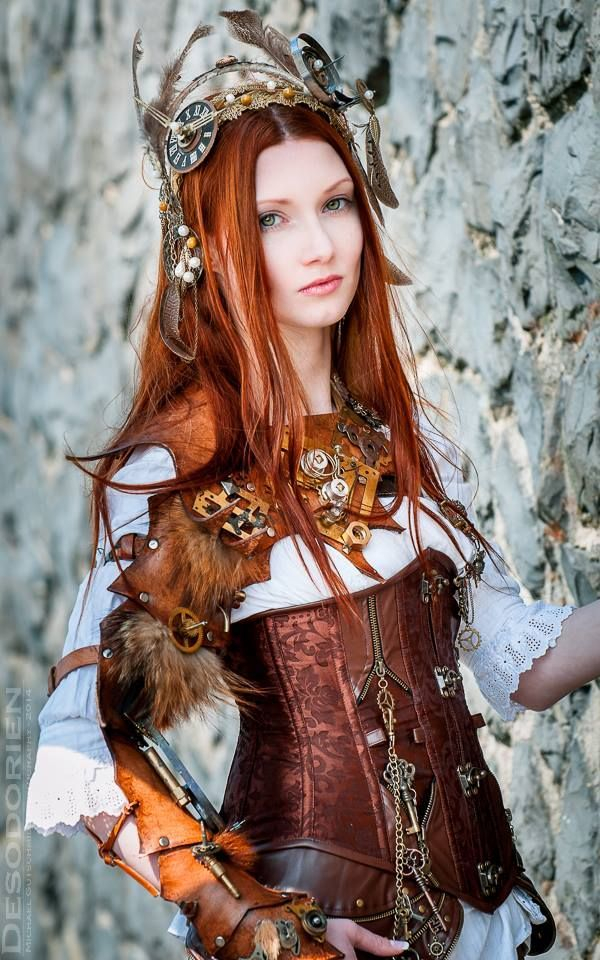 Steampunk Girl 2014 by KatiaInsomnia -                     Arsenic in the shell