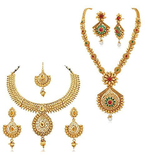 Bollywood Designer Gold Plated Red & Green Stone Combo Of... https://www.amazon.com/dp/B06ZZQRJJ4/ref=cm_sw_r_pi_dp_x_IsLjzb6N2PR4R