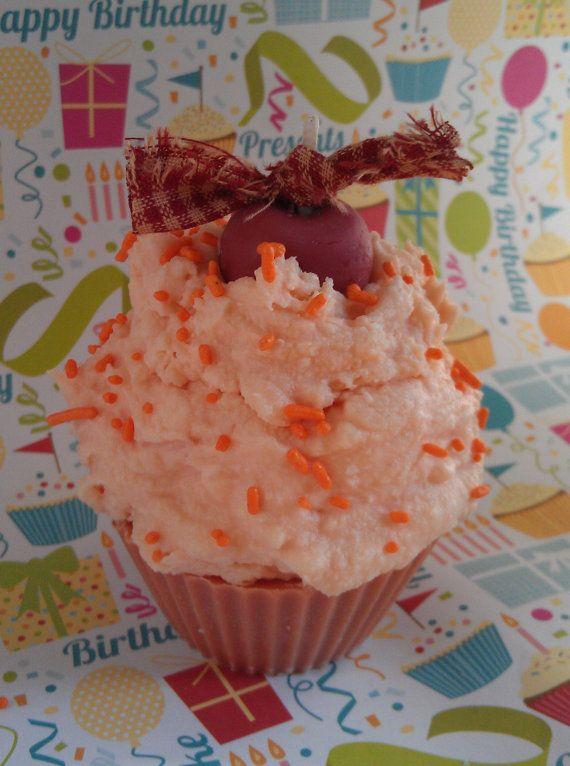 Malibu Rum Cupcake Candle