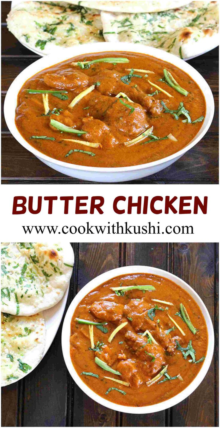 Butter Chicken Is An Easy To Make, Creamy And Delicious Dish Where The  Chicken Is