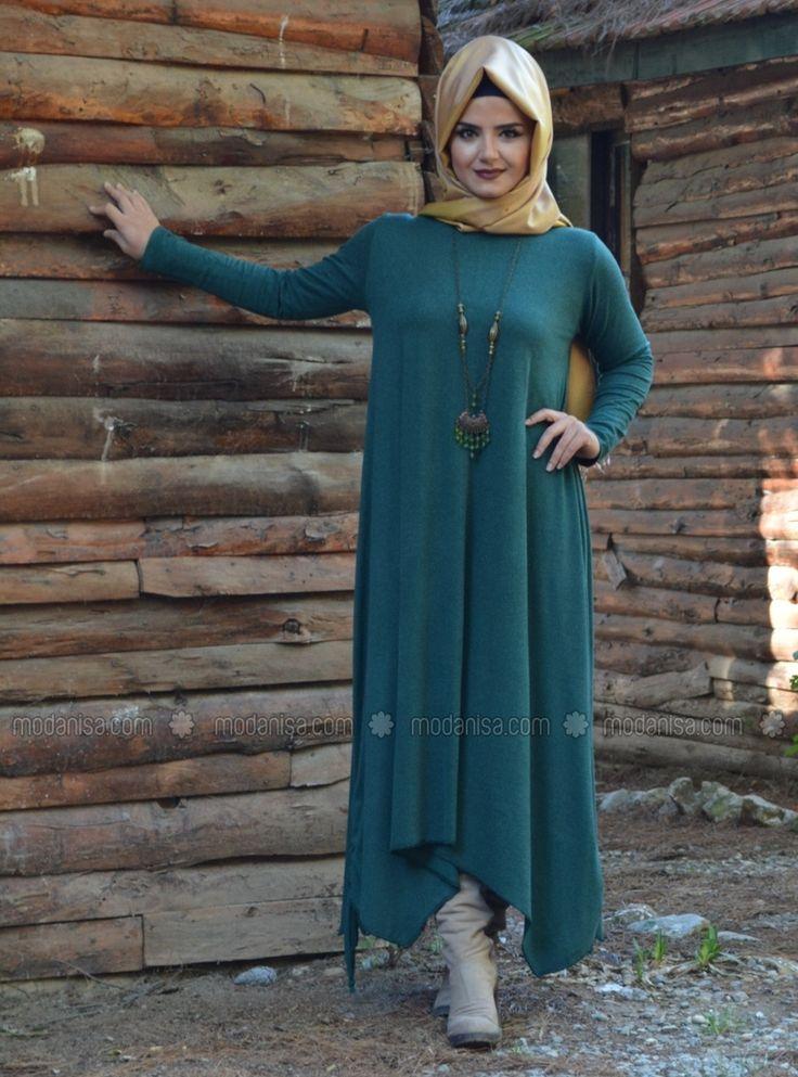 Liza Dress - Vert - Henne Elisa