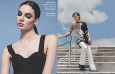Azure   Revista Catarina  Editorial AZURE The serenity of the Blue Sky para @Revista Catarina  http://www.revistacatarina.com.br/2015/12/azure/  Prod. Executiva: Wilson Gama  Fotografia e Arte: Marcia Gamma  Prod. de Moda e Styling: Bruna Policastro Drysdale  Beleza: Gisele Barbosa Modelos: Mara Novaes (WAY)   Bryan Marczewski (DIVO) #fashion #moda #editorial #styling #producaodemoda
