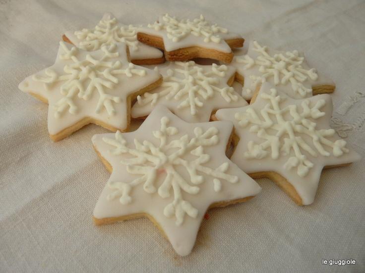 white christmas cookies
