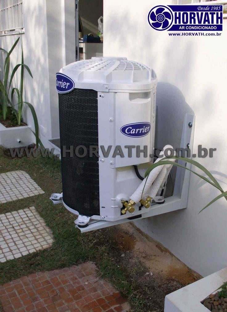 Instalação de Ar Condicionado Carrier http://instalacao.horvath.com.br