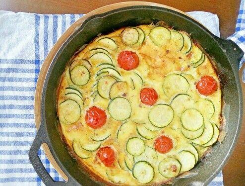 Oven Zucchini Frittata