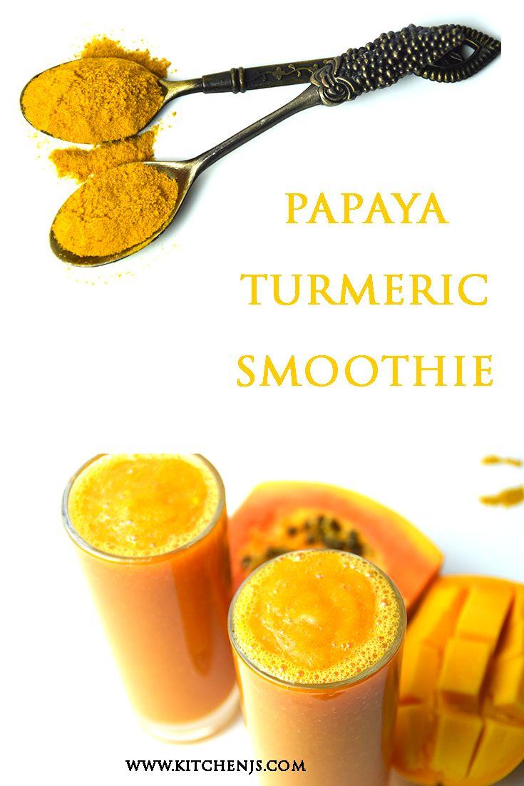 how to make papaya turmeric paste