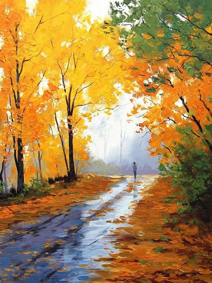 Popular Oil Landscape Painting-Buy Cheap Oil Landscape Painting ...