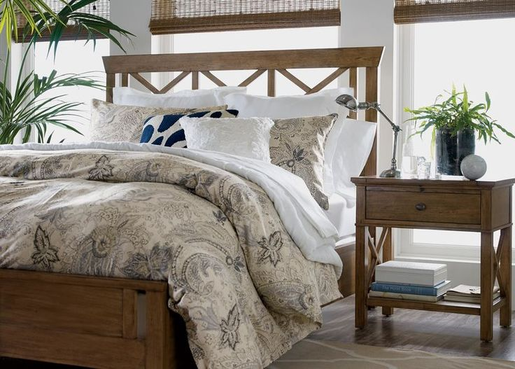 Buy Ethan Allen s Dexter Bed or browse other products in Beds  32 best Bedrooms images on Pinterest allen