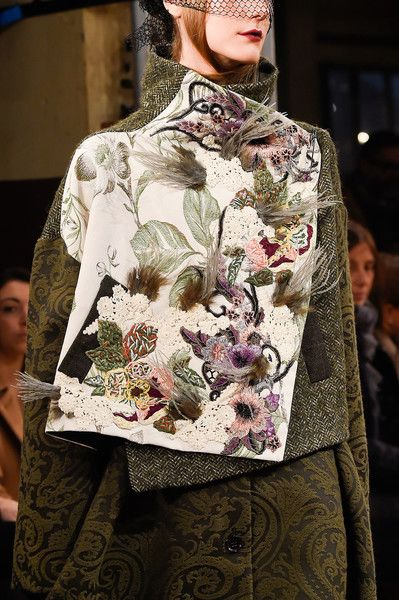 Antonio Marras, Fall 2016 - The Most Beautiful Runway Details of Fall 2016 - Photos