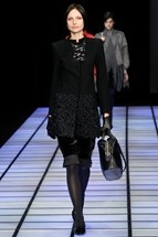 Don't know about the colar, but the rest is fabulous. Emporio Armani RtW