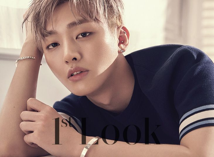 Yoon Jiseong (Wanna One) - 1st Look Magazine vol. 137