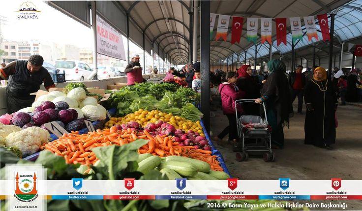 #BüyükşehirHerYerde Başkan Çiftçi;semt pazarı projesinin ilkini Haliliye İlçesi Devteşti Mahallesinde törenle vatandaşların hizmetine açtı.