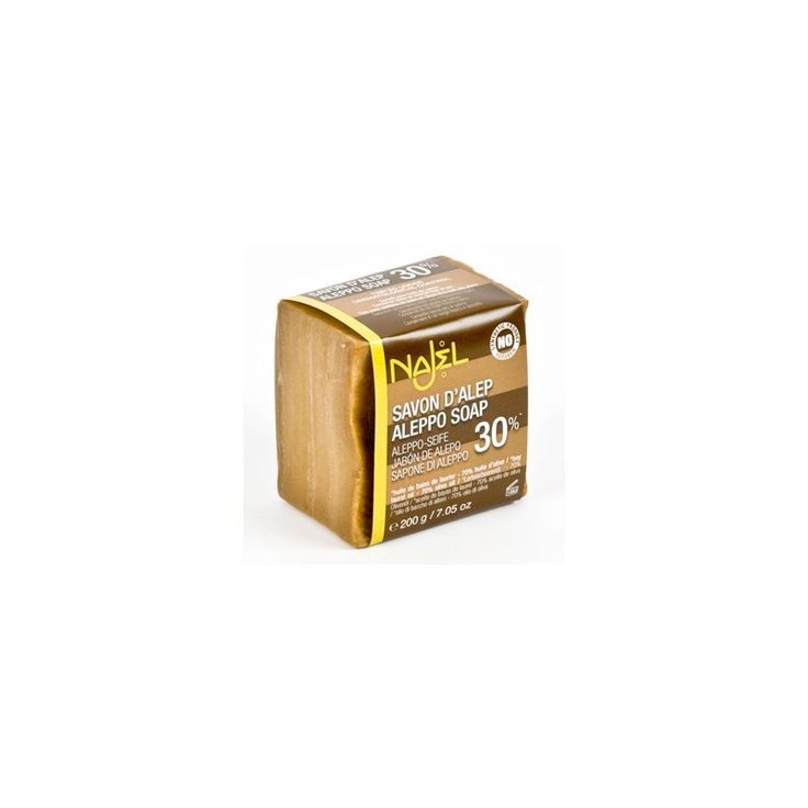 acheter Savon Alep 30% spécial peaux irritées (acné, eczéma, psoriasis, croûtes ...) - 6.50€