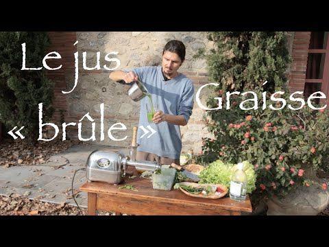 """Le jus qui """"brûle"""" les graisses - www.regenere.org - YouTube nouveau extracteur. Citron seul agrume ouvon laisse peau. On laisse aussi pepin . Pas de celeri en hiver car il refroidit."""