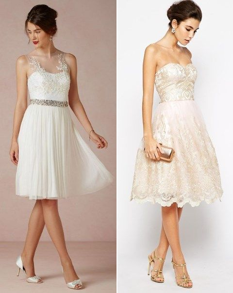 Prepping for a rehearsal dinner? Have a look at the ideas I've prepared for you! Most of brides prefer to wear something white as this color highlights your status of the wife-to-be very well.