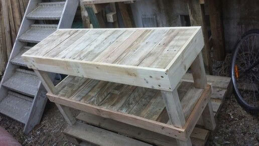 58 best meuble palette images on Pinterest Woodworking, Pallet