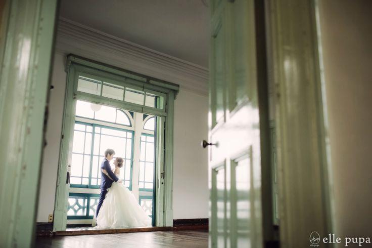 にこにこお2人と洋館前撮り*  *elle pupa blog*
